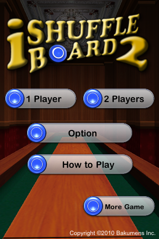 Screenshot iShuffle Board 2